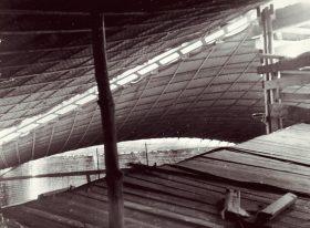 Teatr w Łasku - konstrukcja plafonu